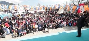 Başkan Zolan seçim çalışmasına Çardak'da de devam etti