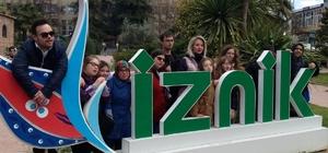 Down Kafe çalışanları İznik'i gezdi