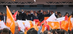 """Akdağ Hınıs ve Tekman'da seçmene seslendi: """"Milletin huzurunu bozanlara asla ve asla fırsat vermeyeceğiz"""""""