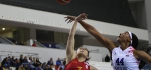 Mersin Büyükşehir Belediyespor, Galatasaray'a acımadı Kadınlar Basketbol Süper Ligi: Mersin Büyükşehir Belediyespor: 82 - Galatasaray: 70