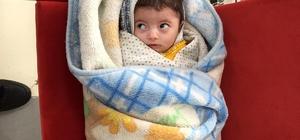 Bebeğini eczaneye terk eden anne yakalandı Bakacak durumu olmadığı için terk etmiş
