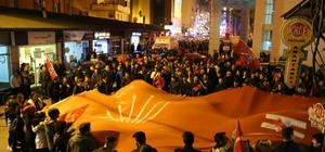 Artvin'de CHP zaferini kutluyor Artvin'de 9 ilçenin 8'i CHP'ye geçti
