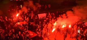 Sinop'ta Barış Ayhan sevinci