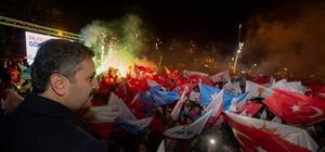 Tokat'ta seçim kutlamaları