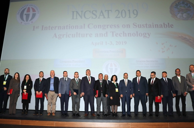 """GAÜN'de """"Uluslararası Sürdürülebilir Tarım ve Teknoloji"""" kongresi başladı"""