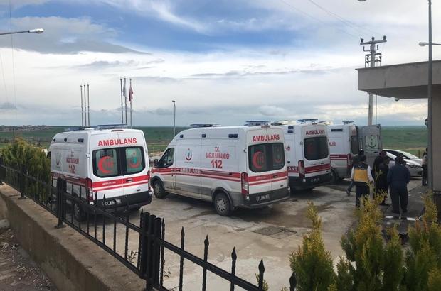 Lice'de trafik kazası: 1'i çocuk 4 yaralı