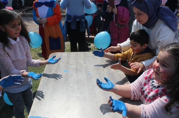 Özel çocuklar, Otizm Farkındalık Günü'nde doyasıya eğlendi Farkındalık Gününde uzmanlar, otizmin hastalık olmadığını vurguladı