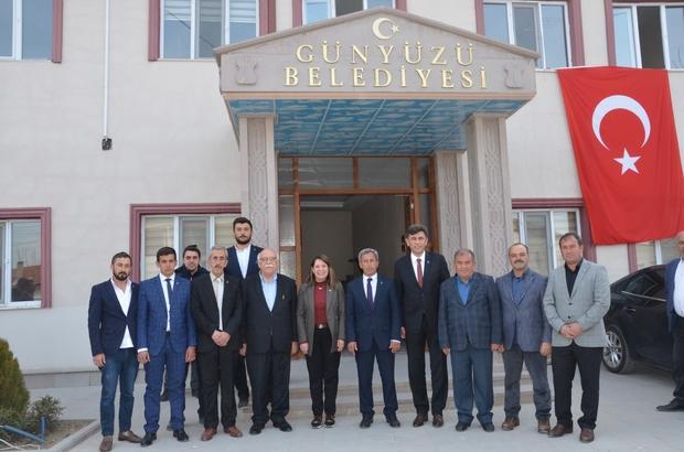 Günyüzü Belediyesi' ne ilk ziyaret milletvekillerinden