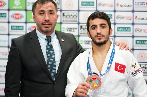 Judo Grand Prix'nde Miraç Akkuş bronz madalya kazandı