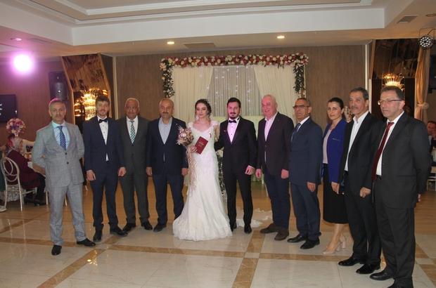 Başkan Büyükgöz, ilk nikahını kıydı
