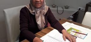 Tavas'ta 50 yılın tek kadın muhtarı görevine başladı