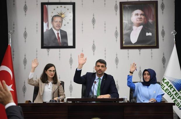 Kocaman başkanlığında ilk meclis toplantısı yapıldı