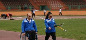 Engel tanımayan rekortmen çiftin yeni hedefi olimpiyatlar