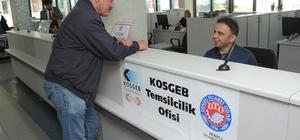 DTO bünyesinde KOSGEB Ofisi açıldı