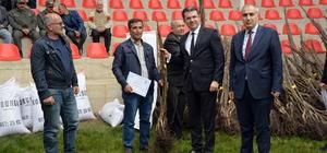 """Erzurum'da 40 bin ceviz fidanı ile yem bitkisi tohumu dağıtıldı Erzurum'da """"Ceviz Yetiştiriciliğini Yaygınlaştırma"""" Projesi"""