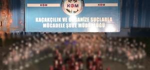 Kocaeli'de durdurulan araçta 190 şişe kaçak içki yakalandı