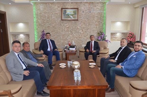 Eskişehir İl Sağlık Müdürü Bilge'den Günyüzü Belediye Başkanı Durgut'a hayırlı olsun ziyareti