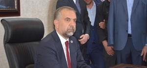 Belediye memurlarından yeni başkana destek