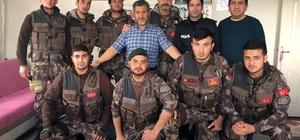 Özel harekat polisleri şehit arkadaşlarını unutmadı