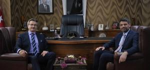 Başkan Kocaman'a eski bakan Tüzmen'den destek
