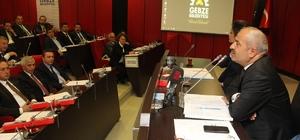 Gebze'de Nisan ayı meclis toplantısı yapıldı