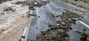 Yoğun yağış tarım arazilerini su altında bıraktı