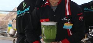 Rize'de lise öğrencileri yemekleriyle yarıştı