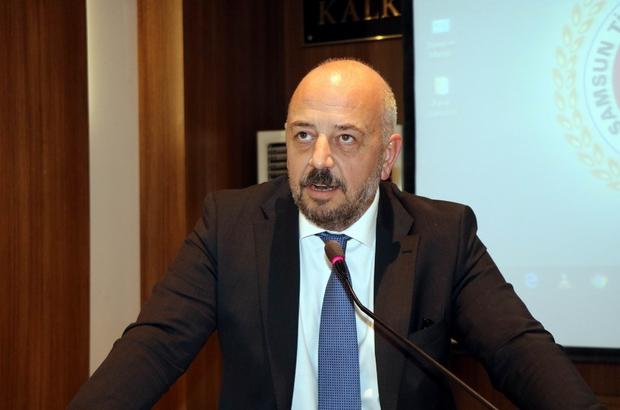 """Turagay: """"İhracat hacmimiz, Türkiye'nin potansiyelini yansıtmıyor"""" Kolay Ticaret ve Küresel Rekabet Paneli Samsun'da yapıldı"""