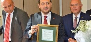Süleymanpaşa Belediye Başkanı Yüksel görevi törenle devraldı