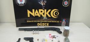 Düzce emniyetinden uyuşturucu operasyonu