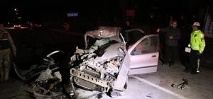Beton mikseri otomobili biçti: 5 yaralı