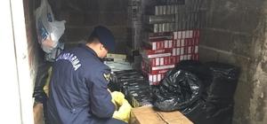 Kocaeli'de 11 bin 250 paket kaçak sigara ele geçirildi Olayla ilgili bir kişi gözaltına alındı