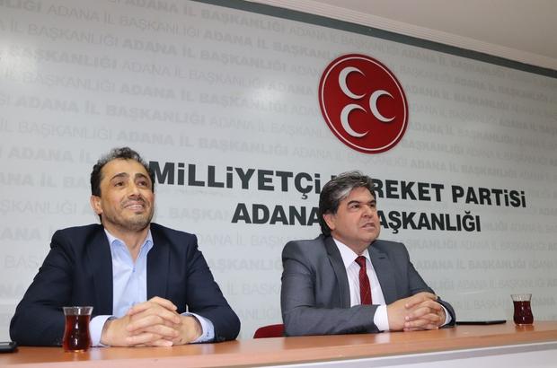 """Adana'da Cumhur İttifakı'ndan """"Birlik beraberlik"""" mesajı MHP ve AK Parti İl Başkanları, iki partinin belediye başkanları ve belediye meclis üyeleri, Adana'da Cumhur İttifakı olarak birlik ve beraberlik ruhunu yaşatmaya kararlı"""