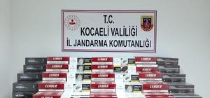Kocaeli'de 11 bin 250 paket kaçak sigara yakalan şahıs serbest bırakıldı