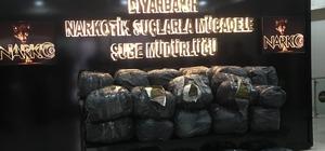 Diyarbakır'da 720 kilogram esrar ele geçirildi 2019 yılında yapılan 339 operasyonda 2 tonu aşkın uyuşturucu madde ele geçirildi Operasyonlarda 463 şahıs yakalanırken, 140 kişi çıkarıldığı adli makamlarca tutuklandı