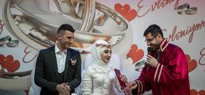 Başkan Tanğlay, ilk nikahını kıydı