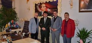 Türkiye Gazetesi'nden Çat Belediyesine hayırlı olsun ziyareti