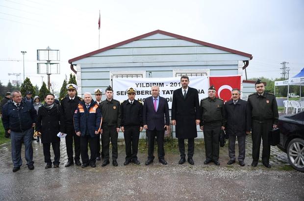 Kartepe'de Yıldırım-2019 Seferberlik tatbikatı düzenlendi