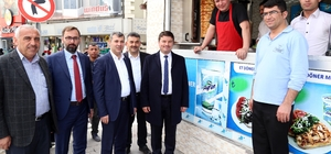 Belediye Başkanı Dinçer esnafları ziyaret etti