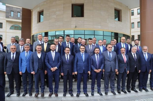 Bakan Dönmez, Belediye Başkanları istişare toplantısına katıldı