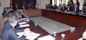Bitlis Belediye Meclisi toplandı
