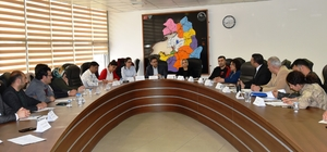 Van'da sanal oyunlarla ilgili il planı oluşturmak için kurum temsilcileri toplandı