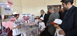 Köy öğrencilerinden bilim fuarı