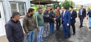 Vali Soytürk'den Asfalt Plent ve Büz Baca tesisini inceledi