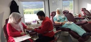 'Kan Ver Hayat Kurtar' Kampanyasına destek isteniyor