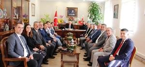 ÖTO'dan yeni başkanlara ziyaret
