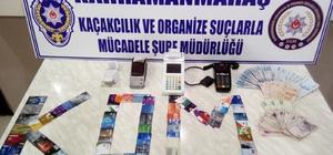 Kahramanmaraş'ta tefeci operasyonu: 2 gözaltı
