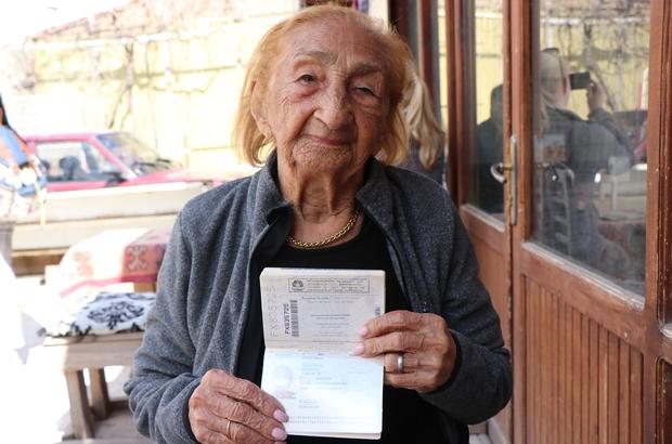 113 Yaşını Kapadokyada Kutladı Brezilyalı Turist 113 Doğum Gününü