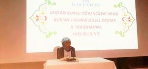 Van'da Kur'an-ı Kerim'i Güzel Okuma Yarışması