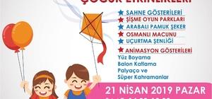 Söke Belediyesi'nden çocuklara 23 Nisan hediyesi